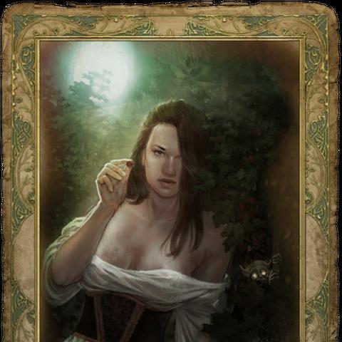 Секс-карточка с Селиной, «цензурная версия»