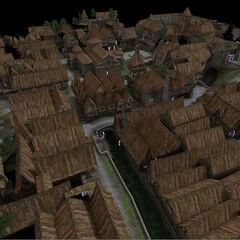 Модель Храмового квартала