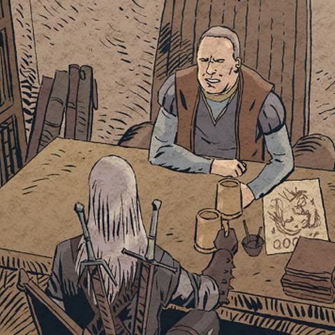 Велерад во время событий рассказа «Ведьмак»