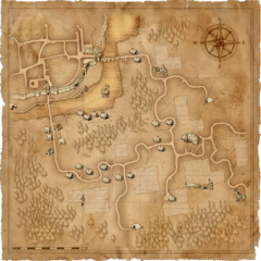 Карта Предместий