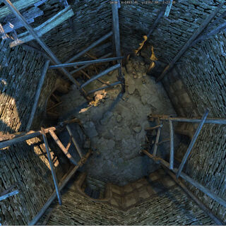 Башня мага изнутри
