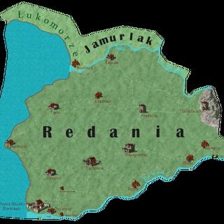 Карта Редании