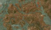 Velen карта