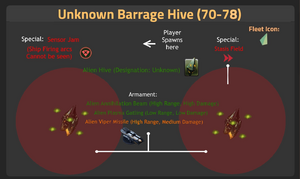 Unknown Barrage Hive 70-78