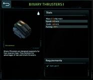 Binary thrusters 1