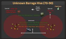 Unknown Barrage Hive 70-90