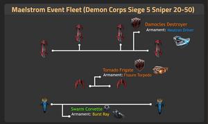 Demon Corps Siege 5 Sniper 20-50
