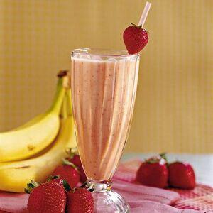 Strawberry banana shake