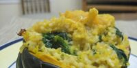 Twice Baked Buttercup Squash