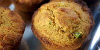 Fennel Corn Muffins by Elle Bee
