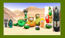 Smile VeggieTales Dave and the Wally P Mr. Nezzer