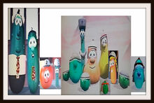 Smile VeggieTales Dave and the Nebby K Nezzer Frames