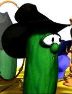 Larry With Black Cowboy Hat