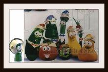 VeggieTales Christmas Spectacular Frames