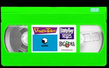VeggieTales TV Scenes Larry-Boy and the Rumor Weed VHS qubo