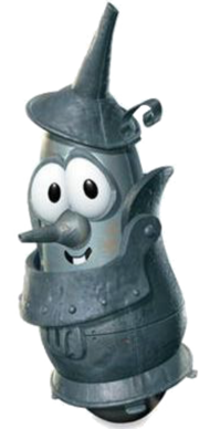 """Tinman Larry in """"The Wonderful Wizard of Ha's"""""""