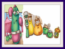 VeggieTales Dave and the Giant Pickle Frames