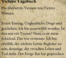 Victors Tagebuch