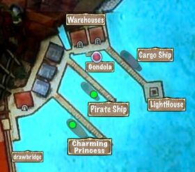 Quest Map Hunter Harbor