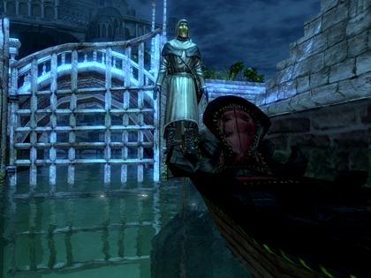 Impaled gondolier
