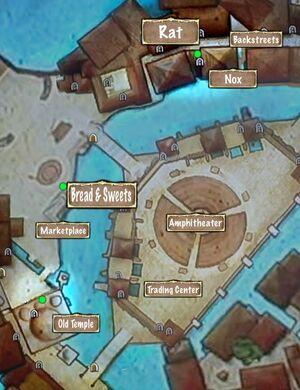 Quest Map A Rat's Work