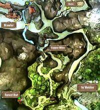 Quest Map Forest Hut Secret