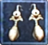Gold Earings icon