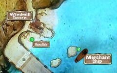 Quest Map Merchant Vessel South Shore