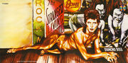 The Creature on the cover of Diamond Dogs
