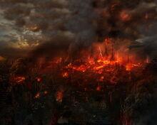 City Burns
