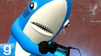 LEFT SHARK!! Gmod Funny Meme Mod (Garry's Mod)