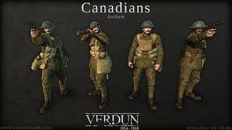 Verdun - Canadians Anthem