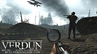 Verdun (WW1 Trench Warfare) Rifle DeathMatch