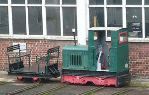 D-Passau Eisenbahnfreunde Schmalspurlokomotive
