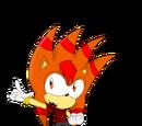 Volco Arm the Hedgehog
