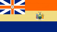 New York State Flag Proposal Designed By Stephen Richard Barlow 30 SEP 2014 at 0925hrs cst
