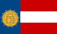 Georgia State Flag Proposal No 3 Designed By Stephen Richard Barlow 25 AuG 2014 at 1515hrs cst