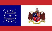 Alabama State Flag Proposal 22 Star Heart of Dixie State Flag Designed By Stephen R Barlow 732014