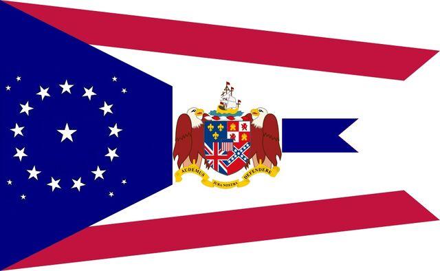 File:Alabama State Flag Proposal swallow tail concept 22 star Medallion Pattern Designed By Stephen Richard Barlow 26 July 2014.jpg