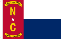 North Carolina Flag Proposal No 14c Designed By Stephen Richard Barlow 15 MAY 2015 at 0928 HRS CST.