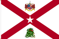 Alabama NOLI ME TANGERE flag No. 3a Proposal By Stephen Richard Barlow 04 MAY 2015 at 1322 HRS CST.