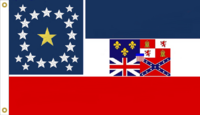 Alabama Heritage State Flag Proposal No. 4 Designed By Stephen Richard Barlow 26 MAR 2015 at 0657 HRS CST