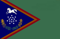 Kentucky State Flag Proposal No 29d Designed By Stephen Richard Barlow 04 NOV 2014 at 0506hrs cst