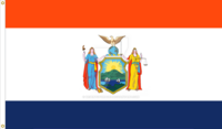New York State Flag Proposal without motto Designed By Stephen Richard Barlow 04 JUN 2015 at 1557 HRS CST.