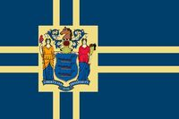 New Jersey State Flag Proposal No 10b By Stephen Richard Barlow 03 SEP 2014 at 1148hrs cst