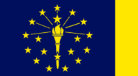 Indiana State Flag Proposal No 1 Designed By Stephen Richard Barlow 18 AuG 2014 at 1313hrs cst
