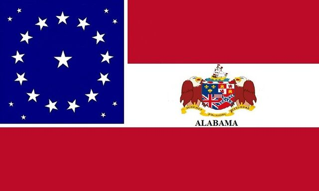 File:Alabama State Flag Stars and Bars Designed By Stephen Richard Barlow 7212014.jpg