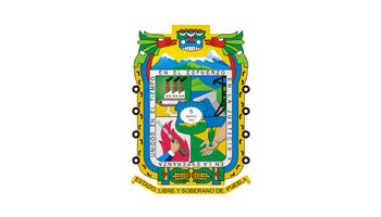 De facto flag of Puebla