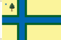 Maine Flag Proposal No. 16 Designed By Stephen Richard Barlow 18 MAY 2015 at 1006 HRS CST.