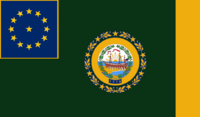 New Hampshire State Flag Proposal No 3 By Stephen Richard Barlow 13 AuG 2014 at 1210hrs cst